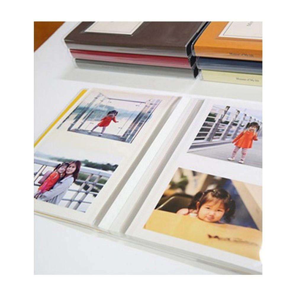 White inner paper - Shinzikatoh Moment of my life white self adhesive photo album