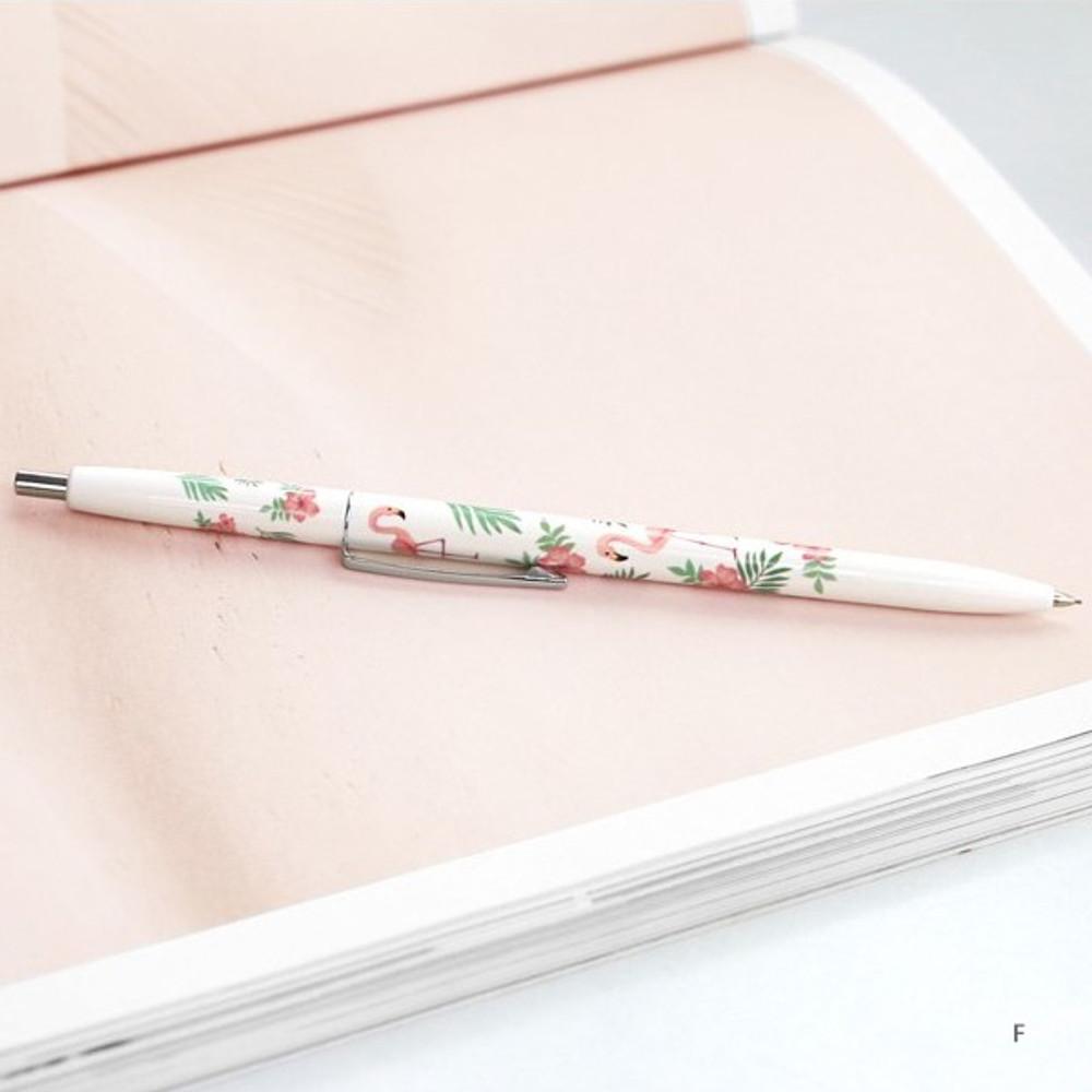 F - ICONIC Retro 0.5mm retractable sharp mechanical pencil