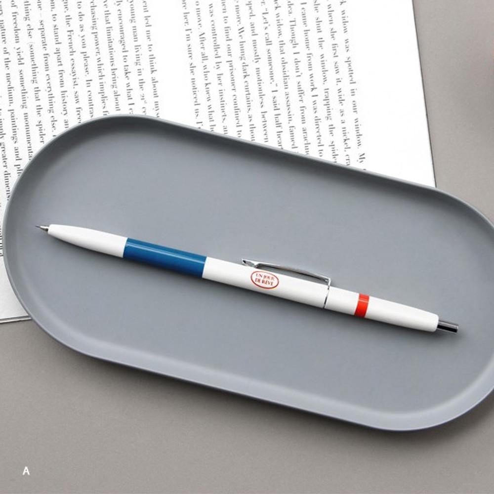 A - ICONIC Retro 0.5mm retractable sharp mechanical pencil