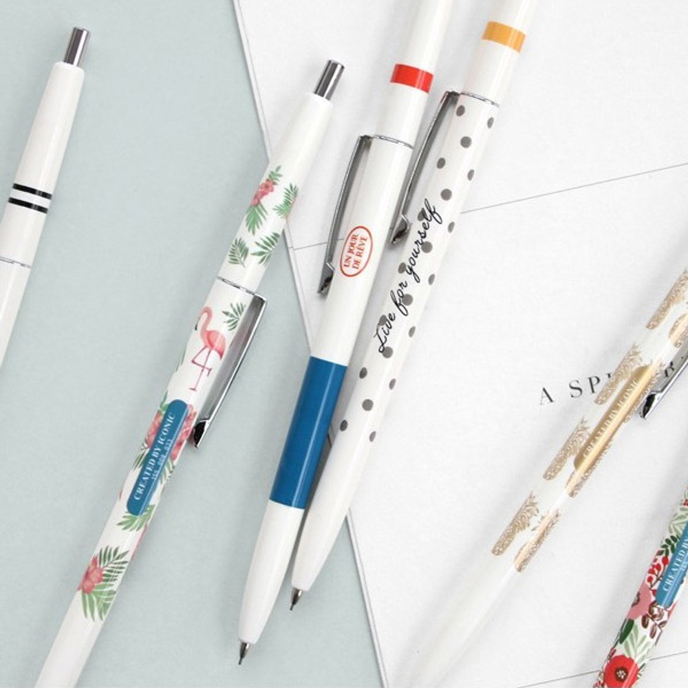 ICONIC Retro 0.5mm retractable sharp mechanical pencil