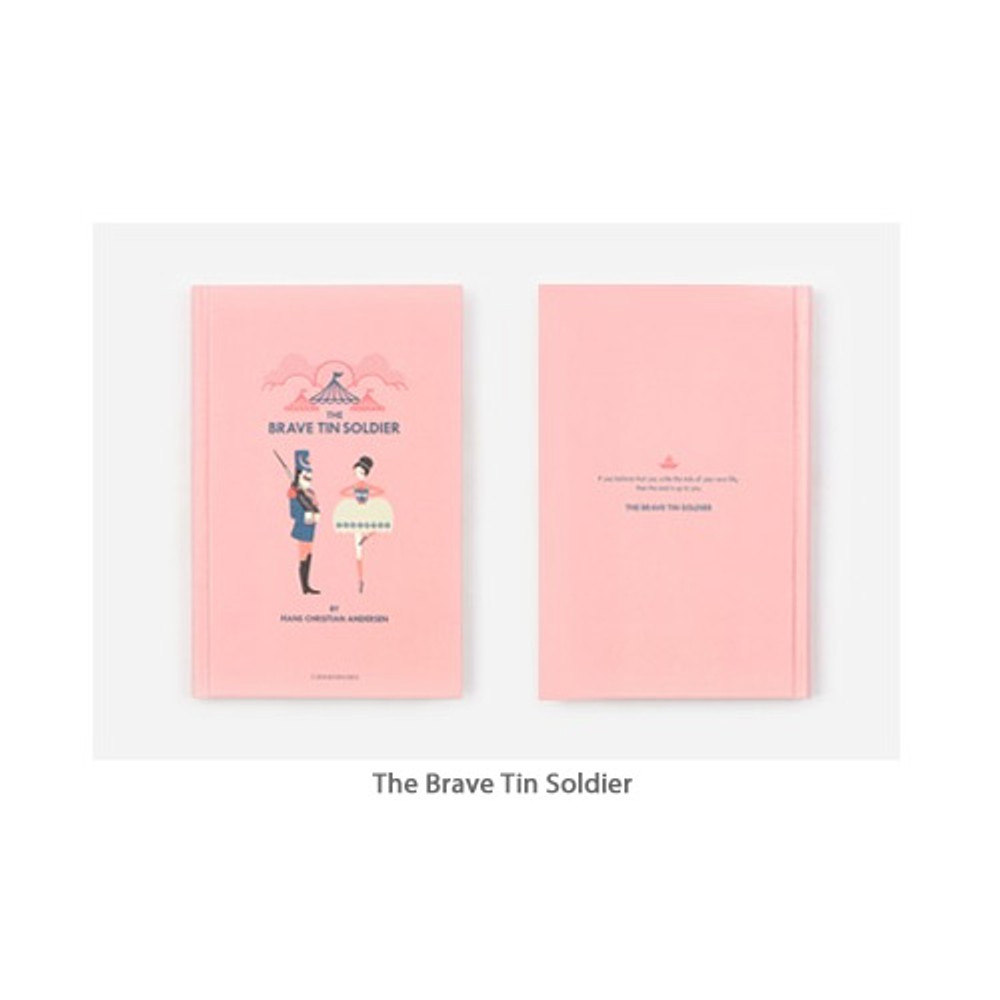 The Brave tin Soldier - Bookfriends World literature hardcover lined notebook