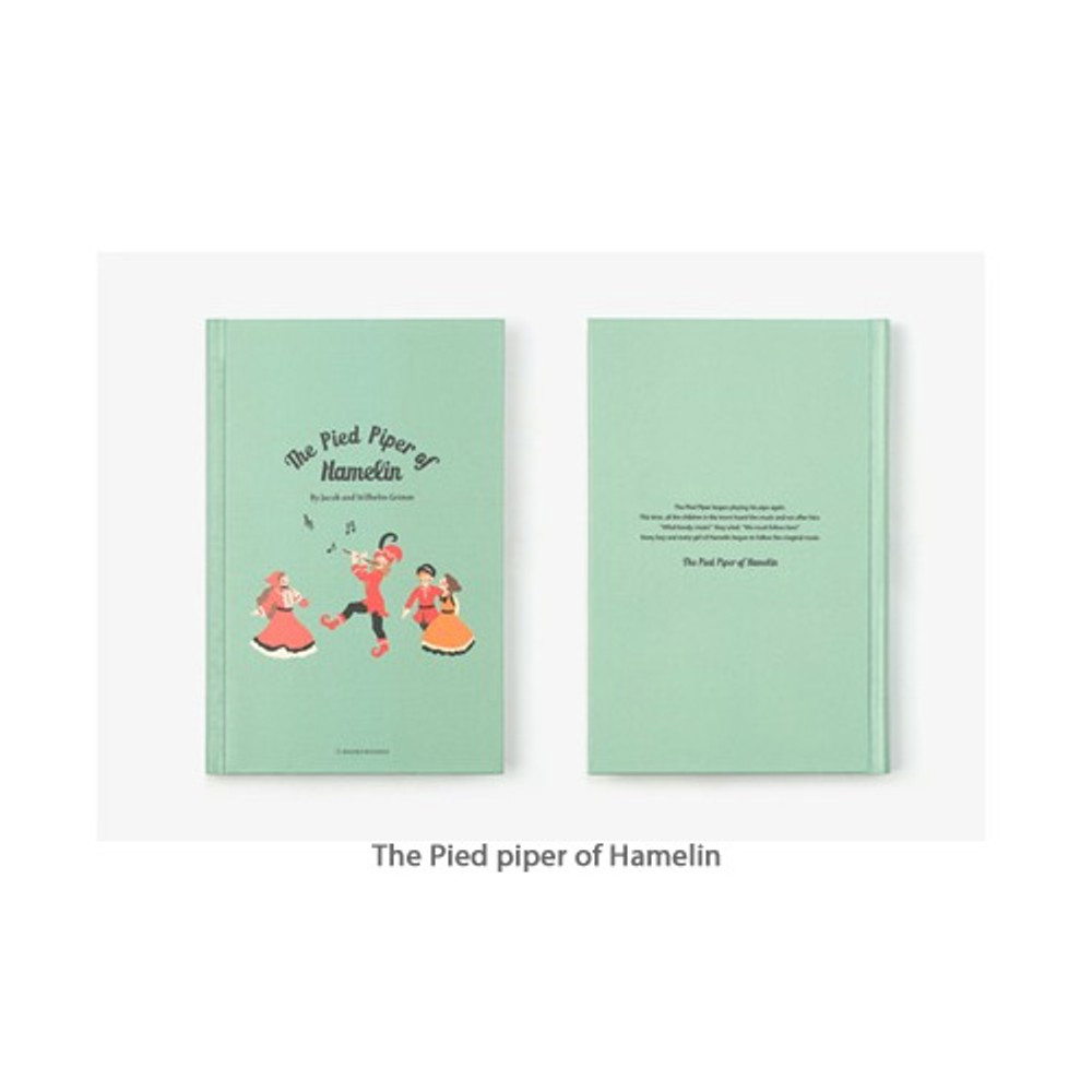 The Pied piper of Hamelin - Bookfriends World literature hardcover lined notebook
