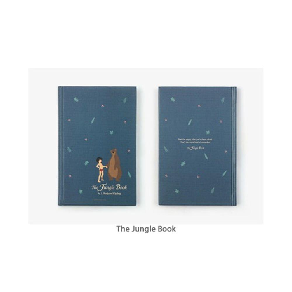 The Jungle Book - Bookfriends World literature hardcover lined notebook