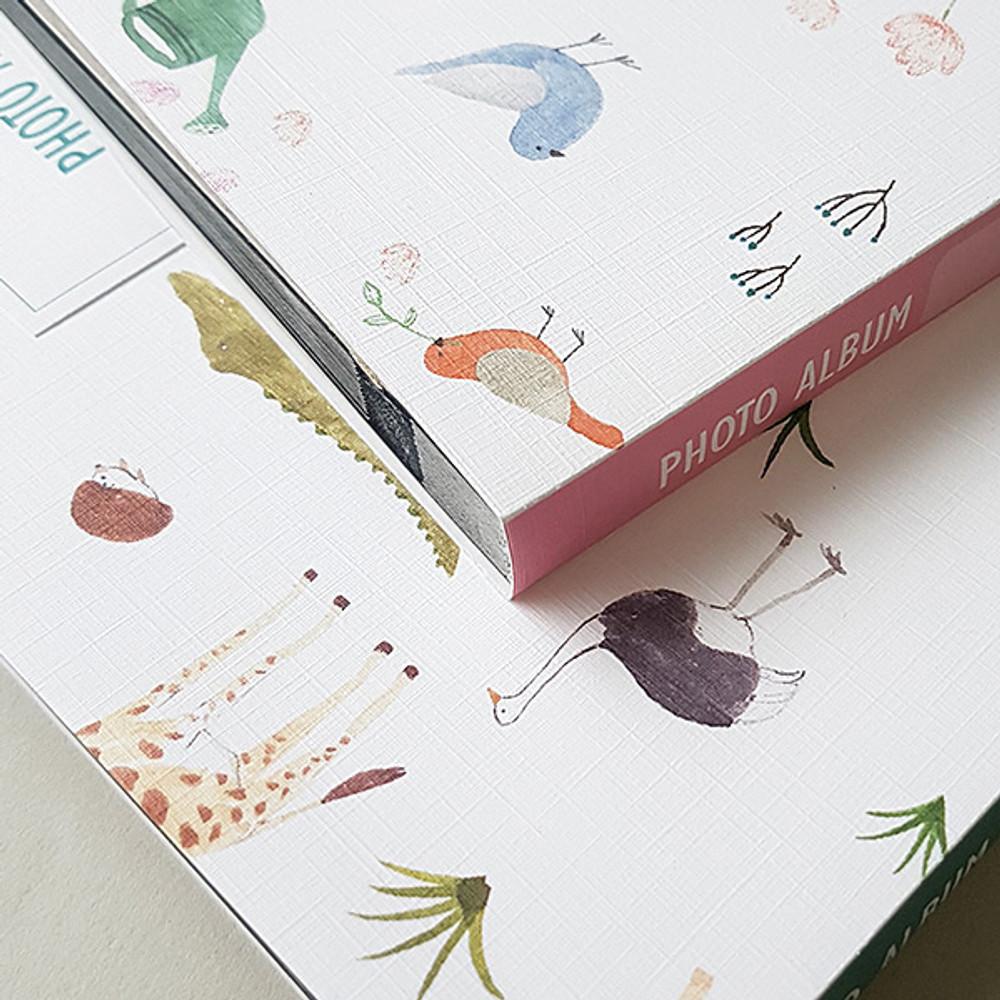 Plant Animal pattern self adhesive photo album