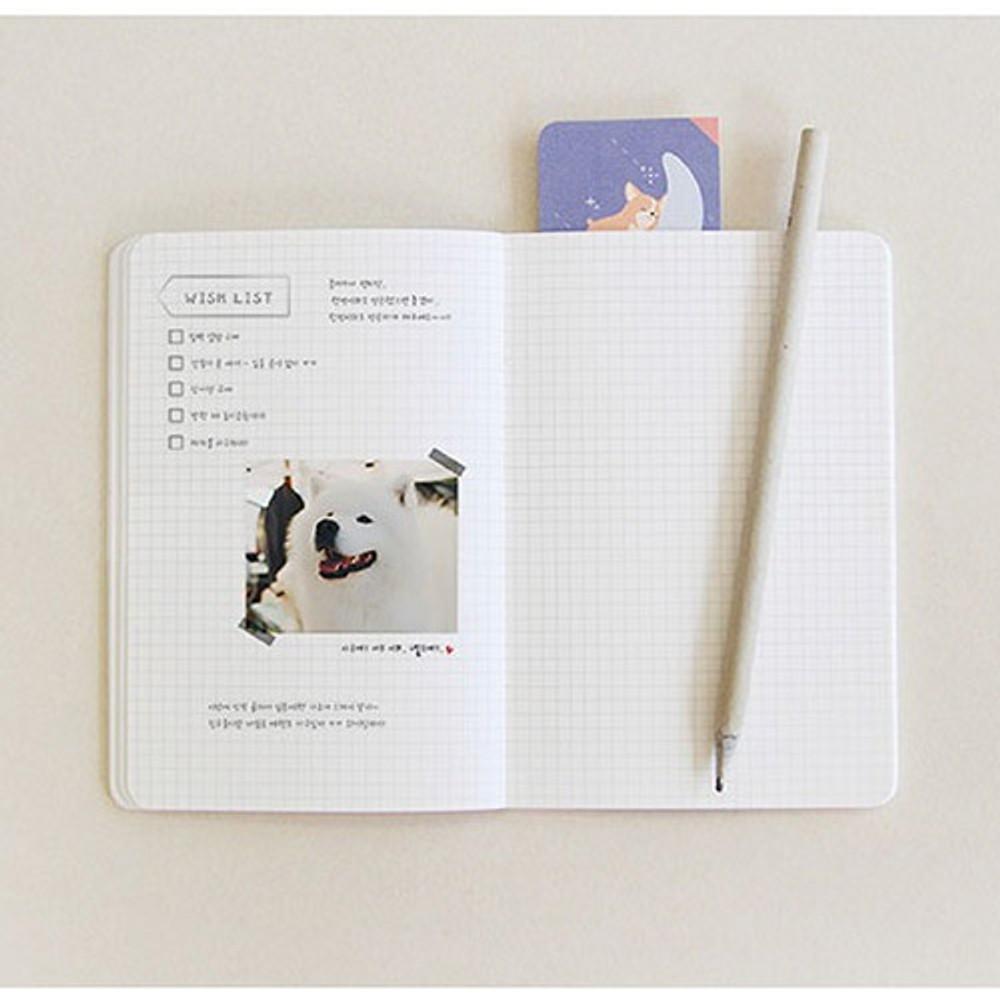 PLEPLE ChouChou 90 days undated daily journal diary