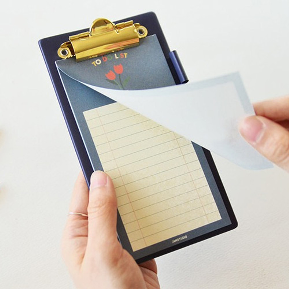 Example of Jam small clipboard