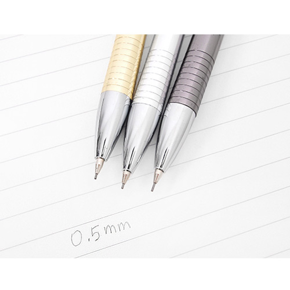 0.5mm lead - 2Young My plus metal 0.5mm sharp mechanical pencil