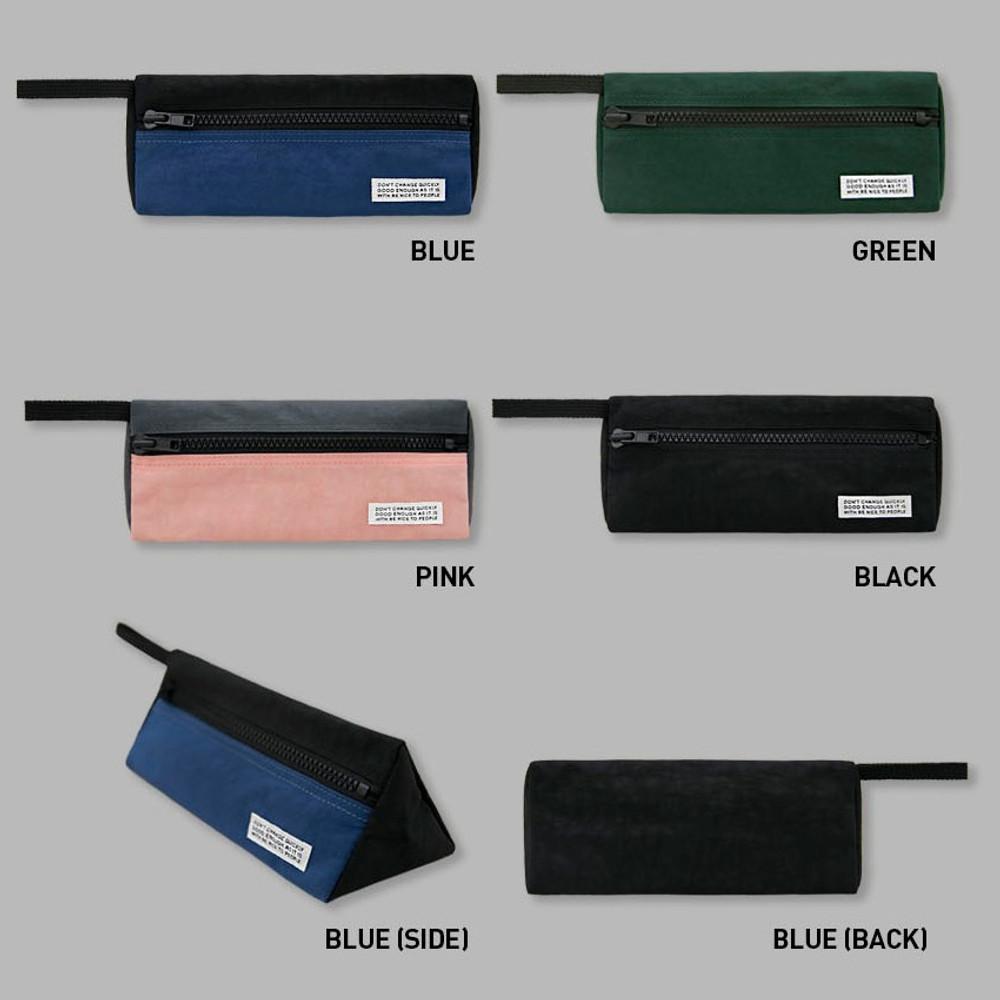 Color - BNTP Washer long zipper pouch pencil case
