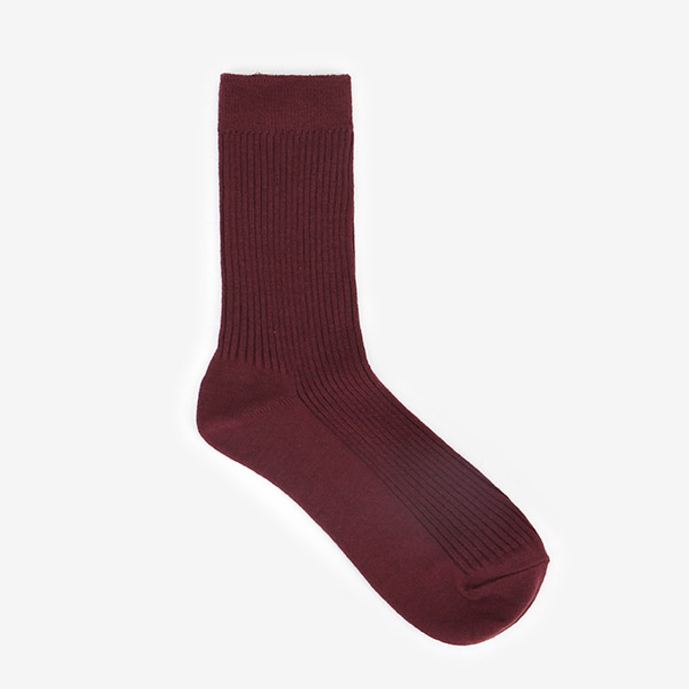 Dailylike Comfortable yours for life daily socks - Burgundy