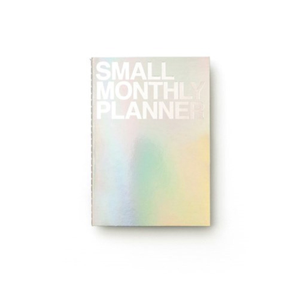 Hologram - Small 16 months undated monthly planner