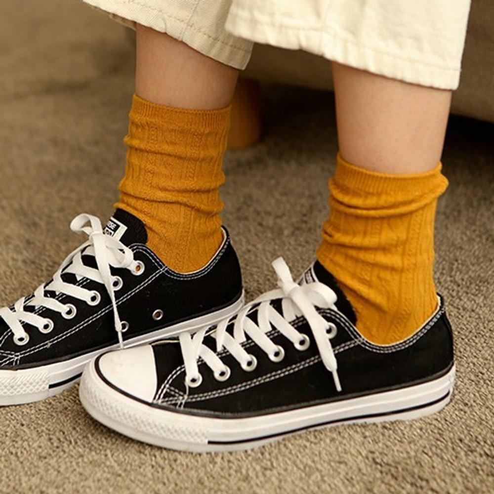 Dailylike Comfortable yours for life lycra twist women socks