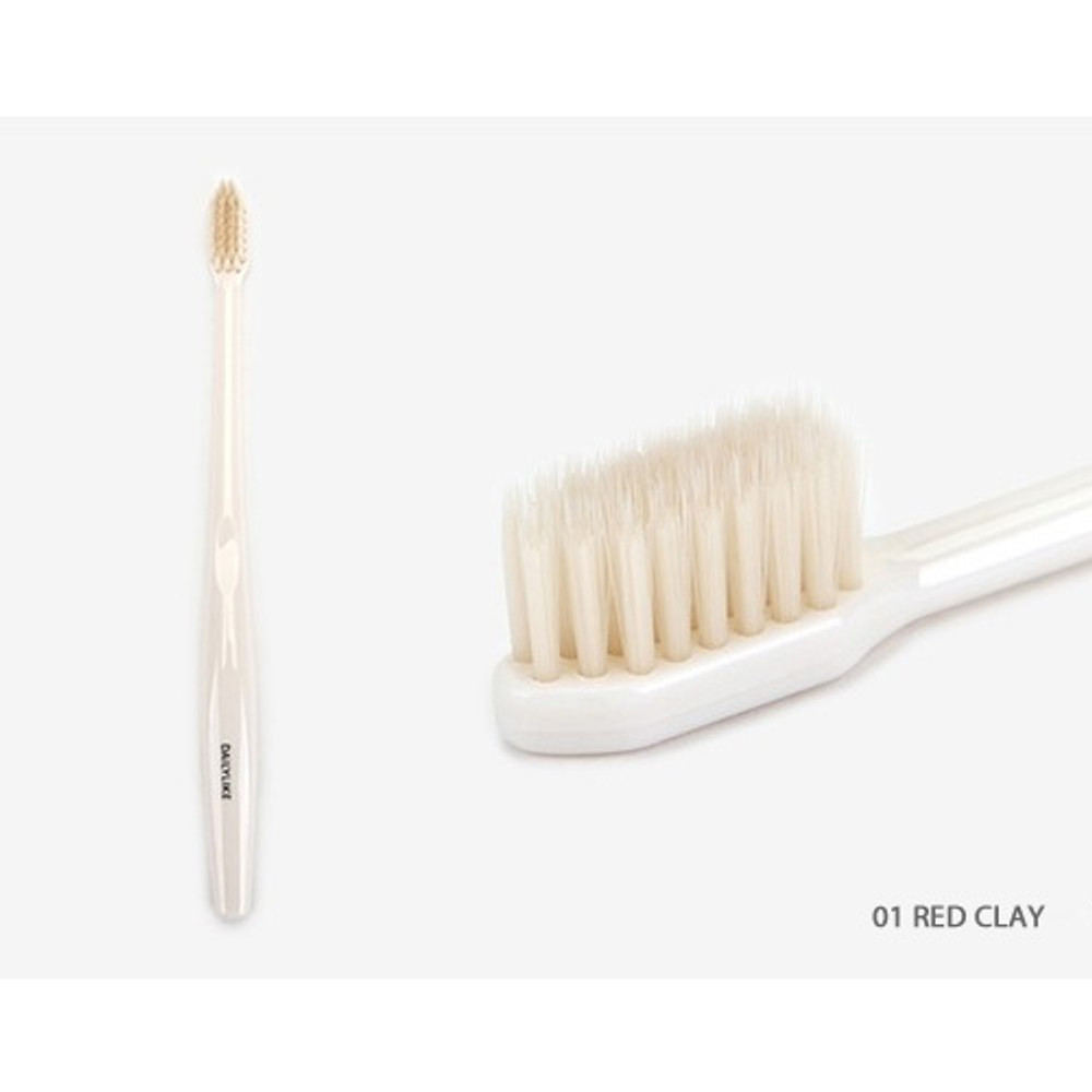 Red clay - Dailylike Comfortable yours for life cheese me toothbrush