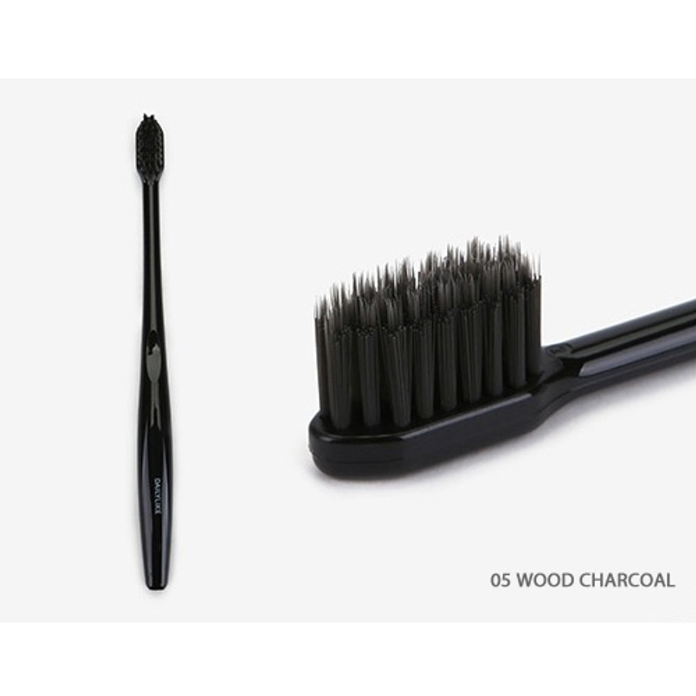 Wood charcoal - Dailylike Comfortable yours for life cheese me toothbrush