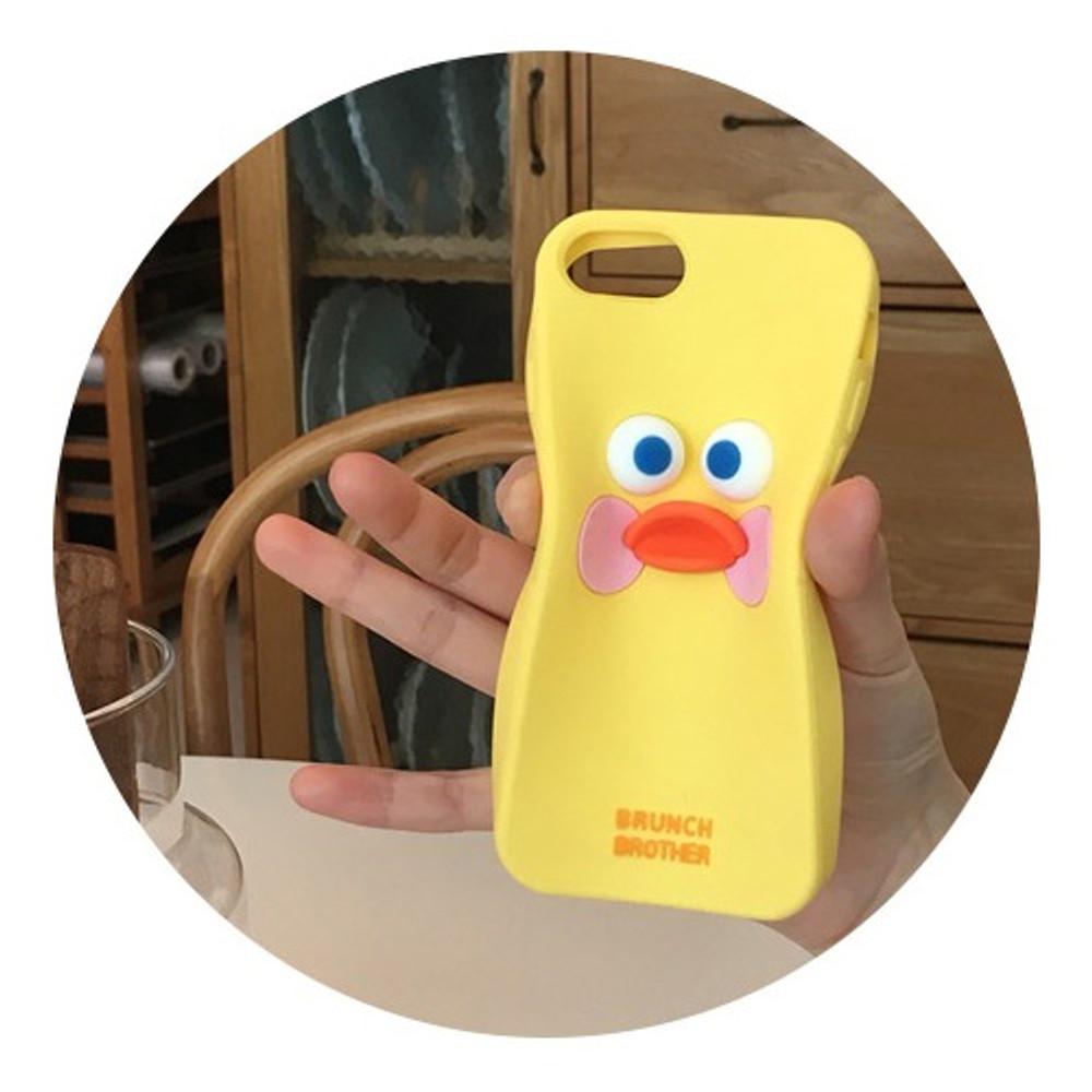 ROMANE Brunch brother silicone case for iPhone 8 7 6S 6 ver2