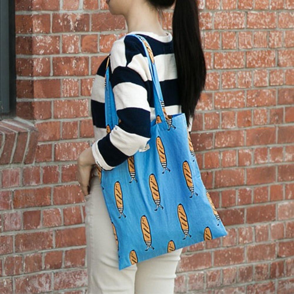 Baguette - Livework Jam Jam pattern daily shoulder tote bag ver2