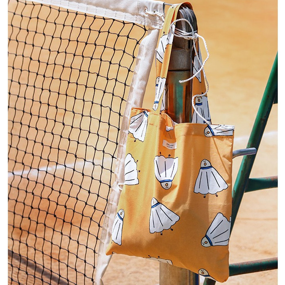 Shuttlecock - Livework Jam Jam pattern daily shoulder tote bag ver2