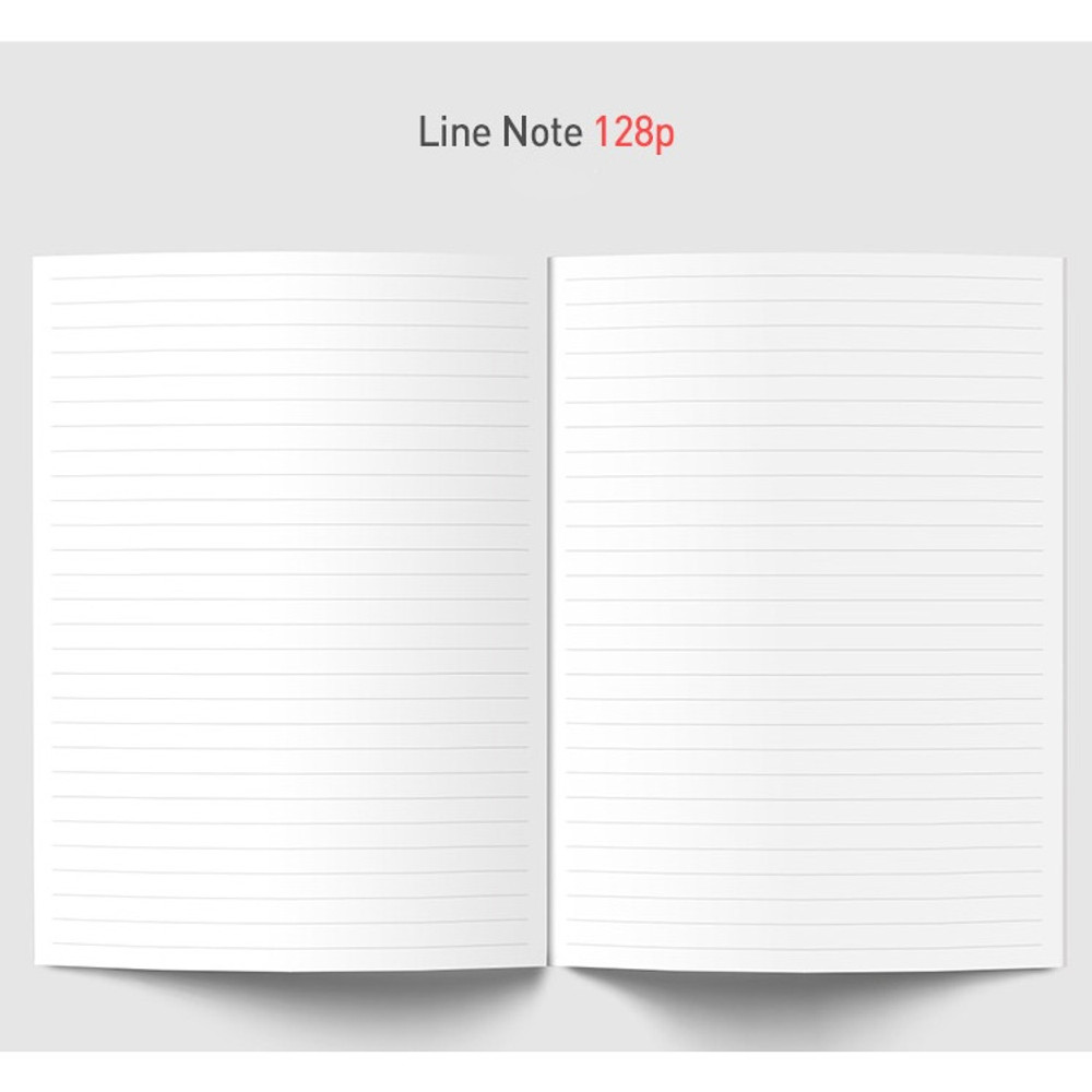 Lined note - Florence A5 hardcover lined notebook