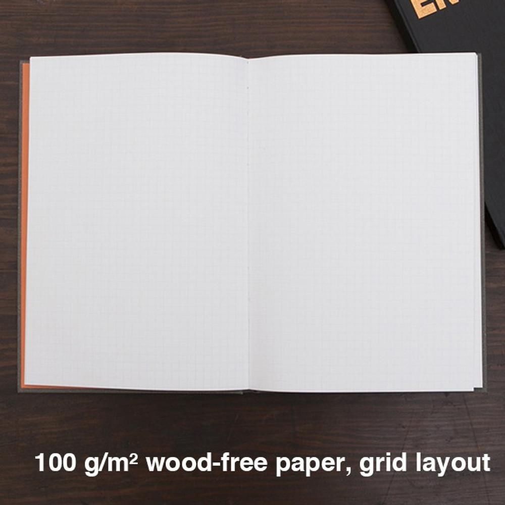 Grid note - Engineer hardcover grid notebook