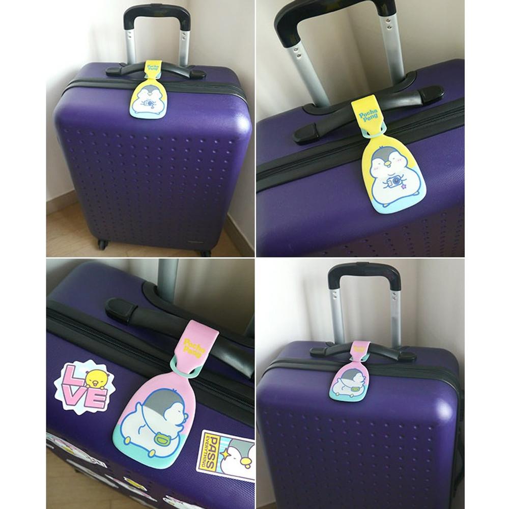 N.IVY Pochapeng travel luggage name tag