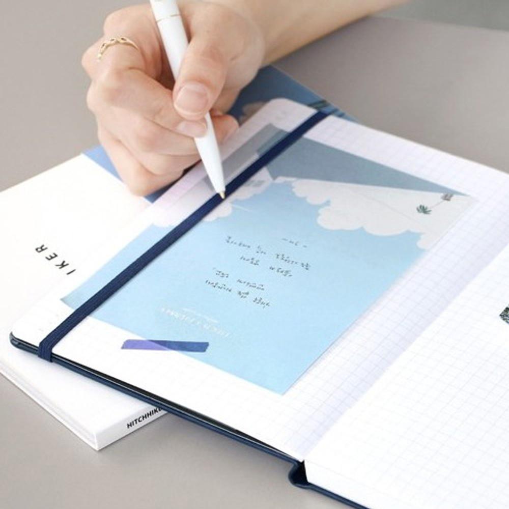 Iconic Lagom illustration memo notepad
