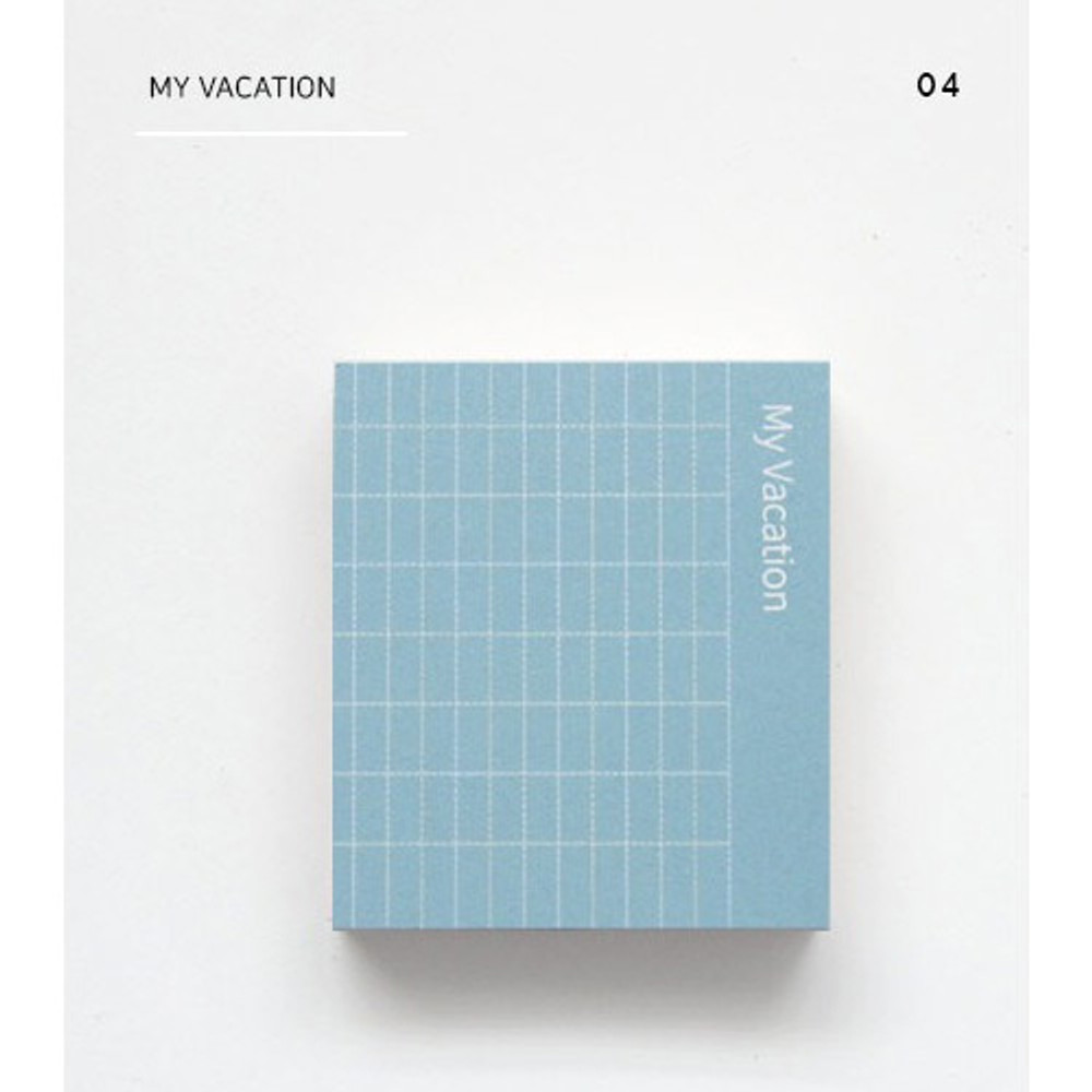 My vacation - The memo index it small sticky notepad
