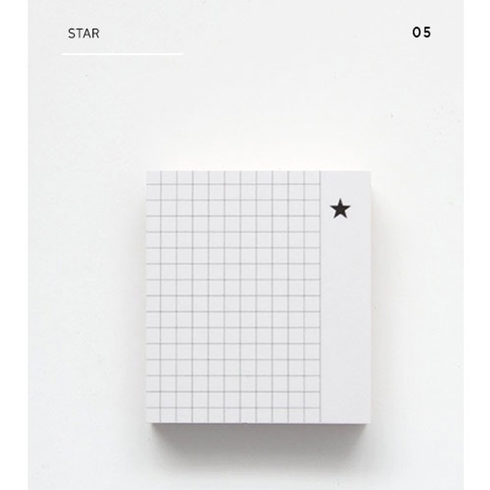 Star - The memo index it small sticky notepad