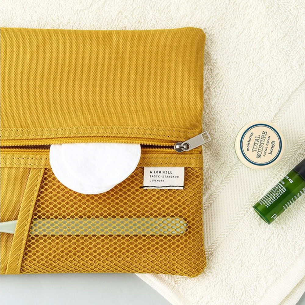 Mustard - Livework A low hill basic pocket pencil case ver2