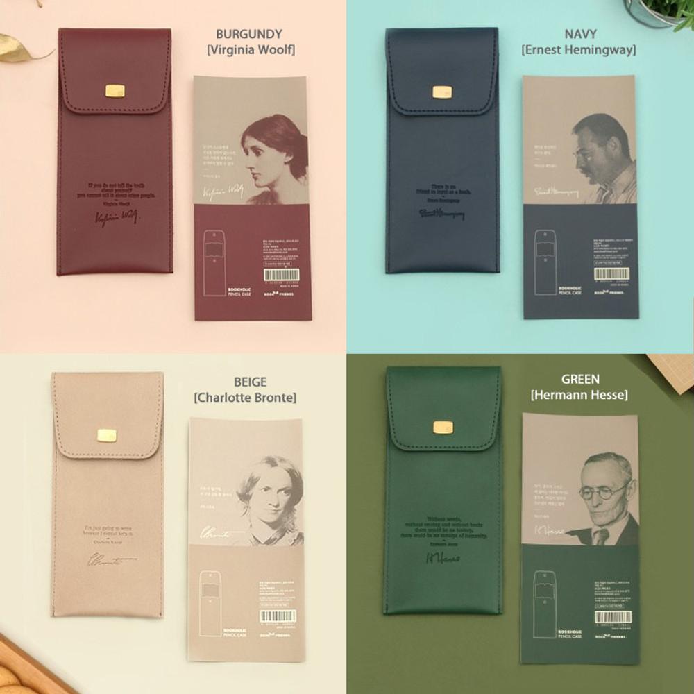 Option - Bookfriends Bookaholic pocket pencil case