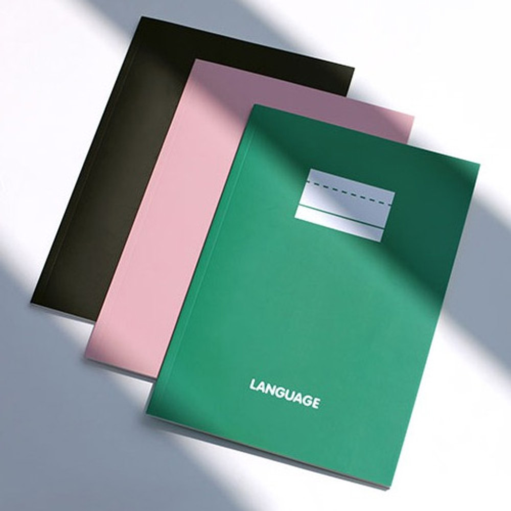 2NUL Language study B5 lined notebook ver3