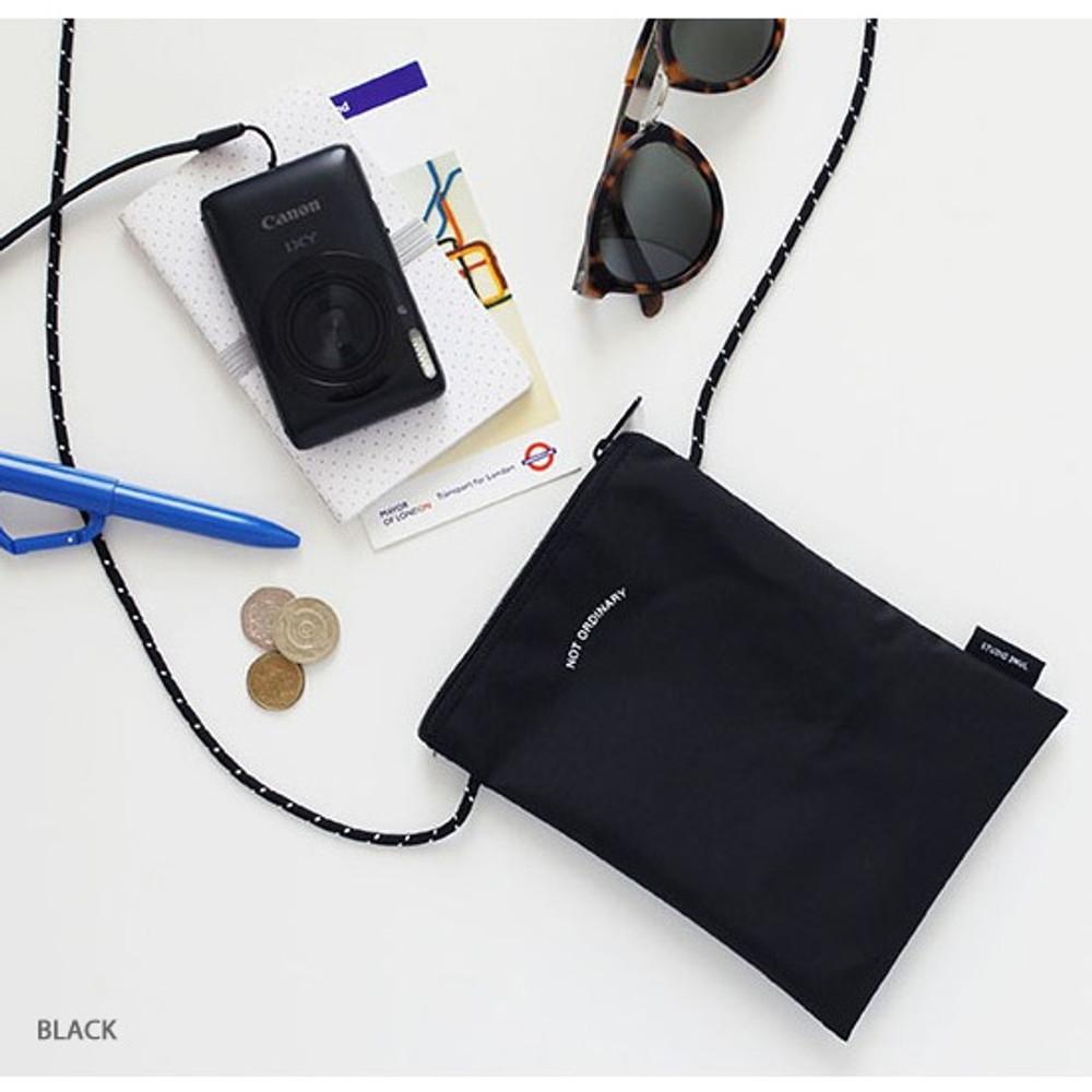 Black - Not ordinary travel small crossbody bag