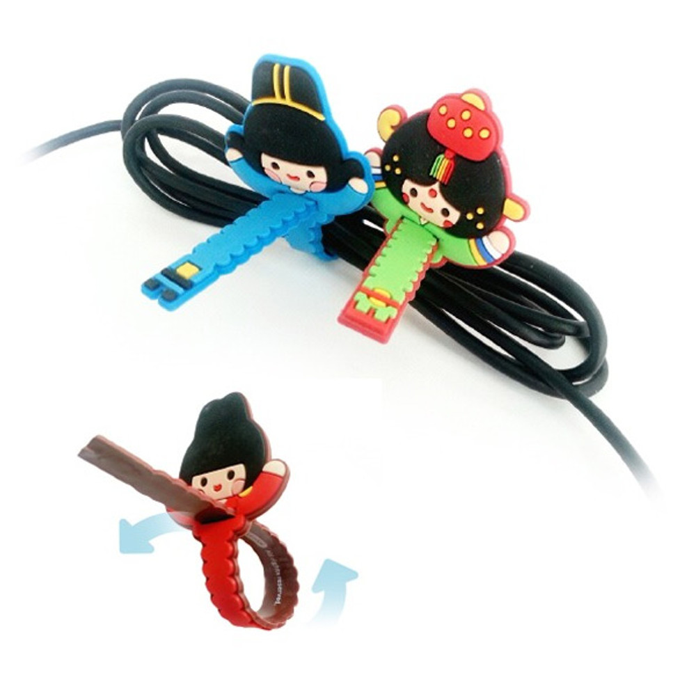How to use - Korean traditional couple cable organizer set