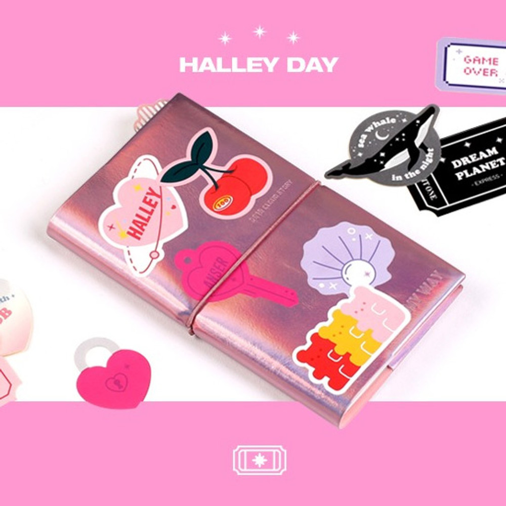 02 Halley day - After The Rain Twinkle youth club deco sticker pack