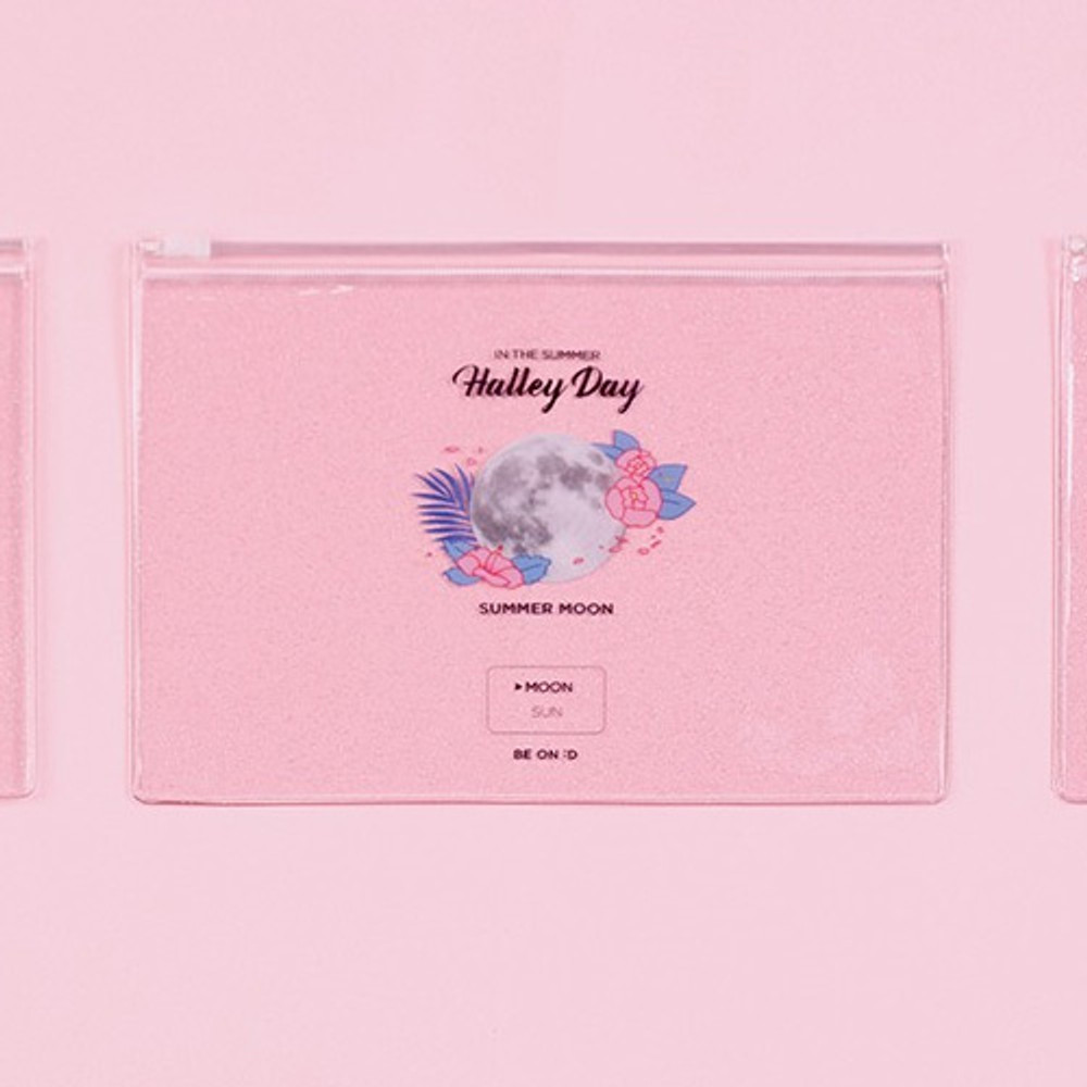After The Rain Halley day clear zip lock medium pouch