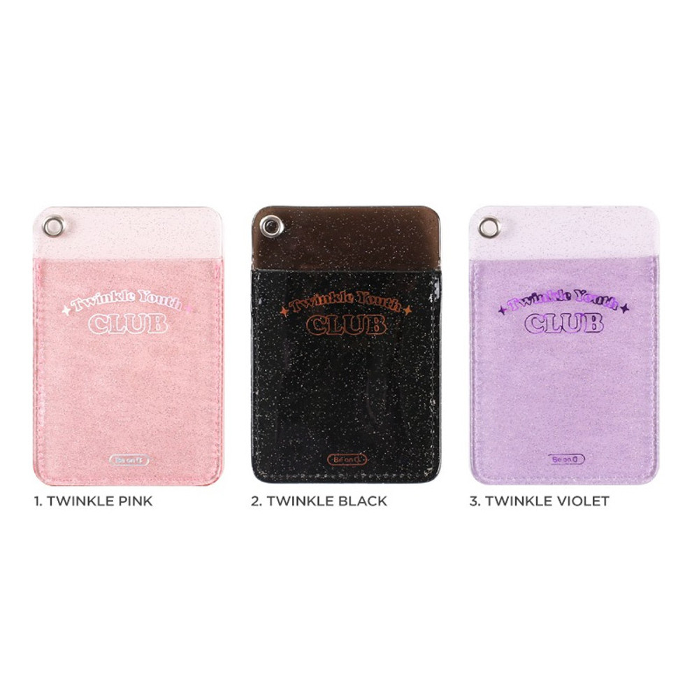 Option - After The Rain Twinkle youth club flat card holder case
