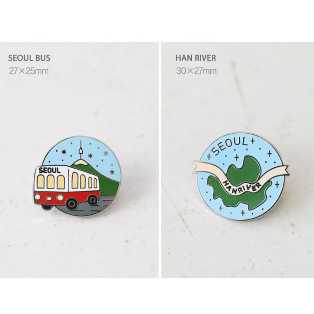 Otpion - gyou Take a trip Seoul badge