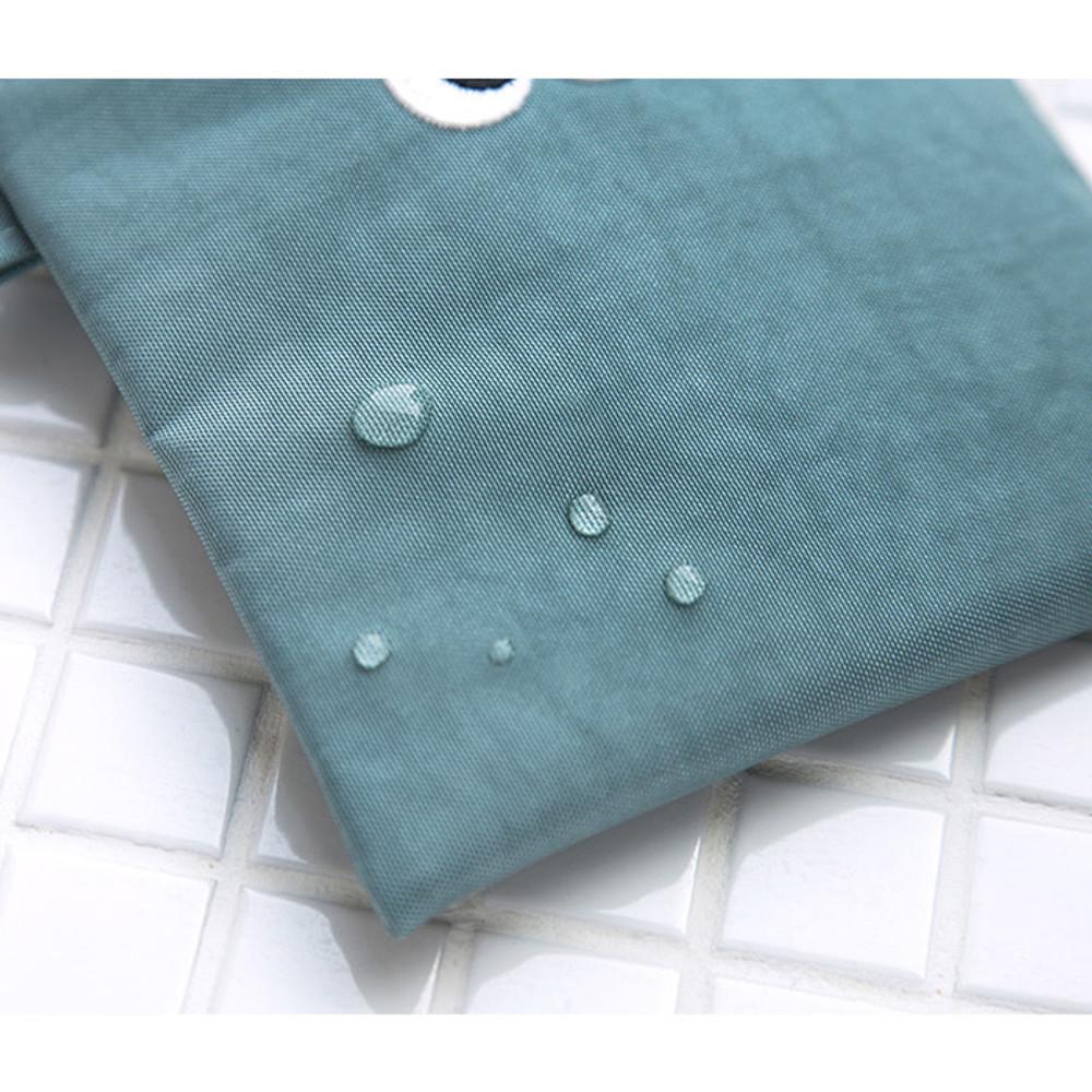 Water resistance - Som Som stitching zipper pouch ver2