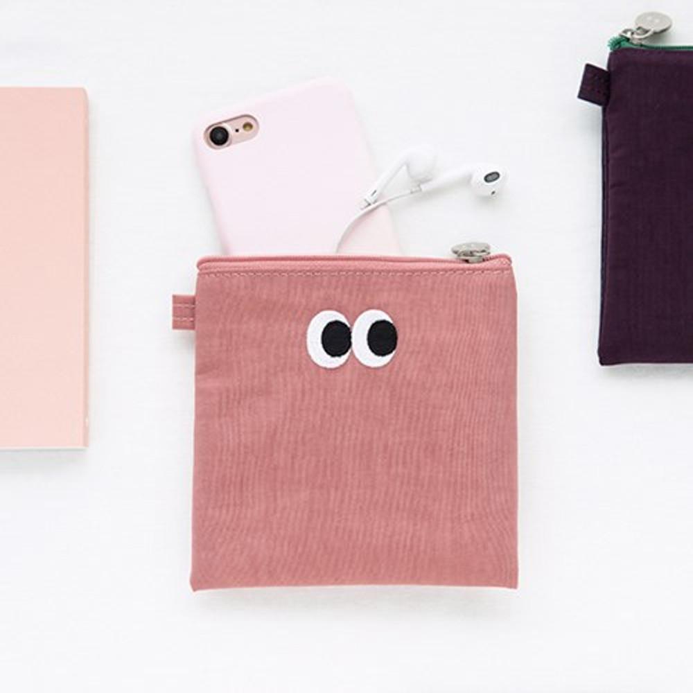 Livework Som Som stitching small zipper pouch ver2