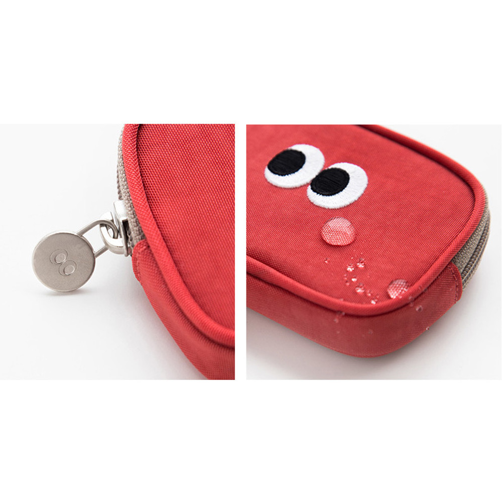 Water resistance - Livework Som Som stitching card case pouch wallet ver2
