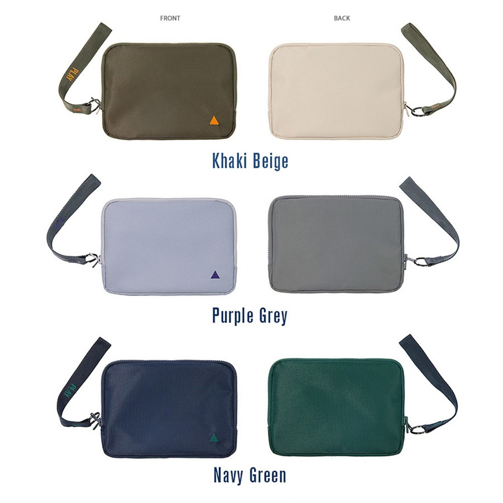 Option - Family travel double passport pouch bag