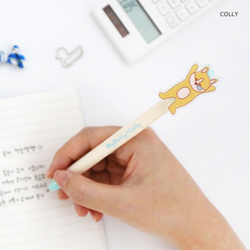 colly - Acrylic black gel pen 0.5mm