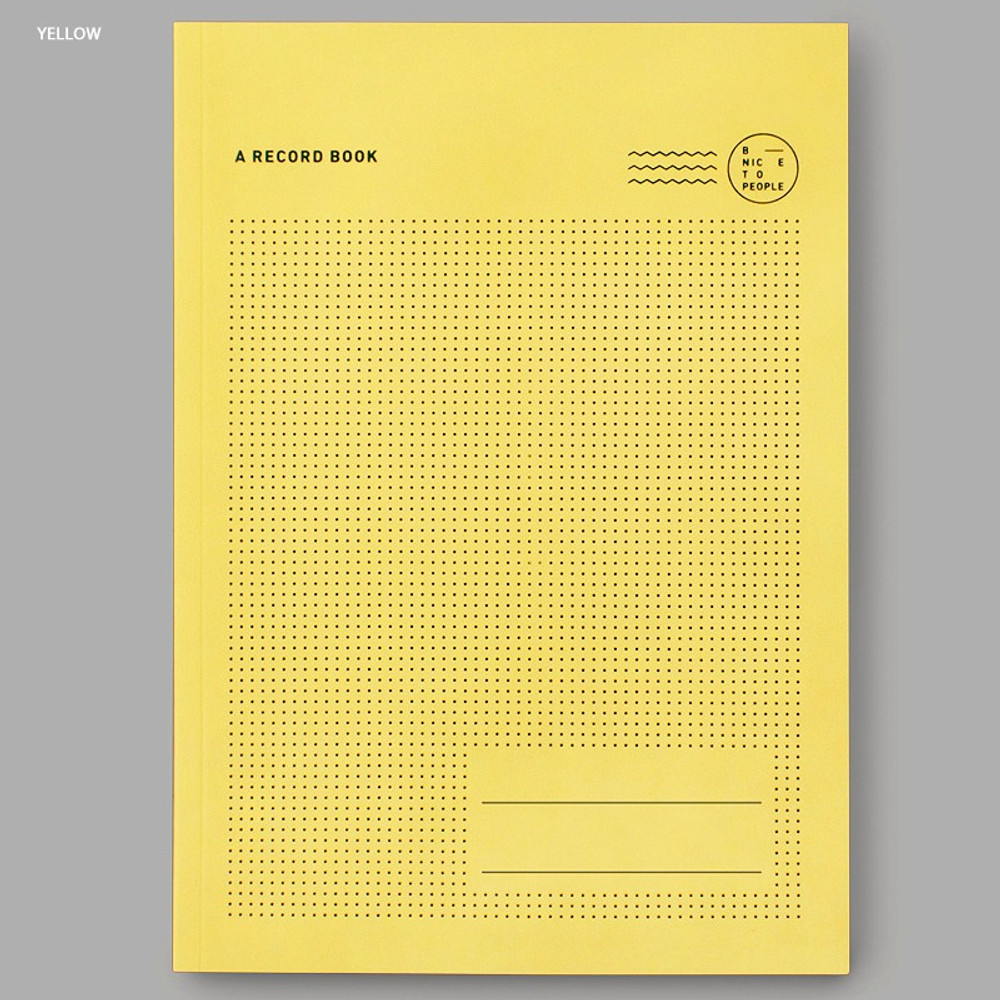 Yellow - Movie Book Travel review record notebook