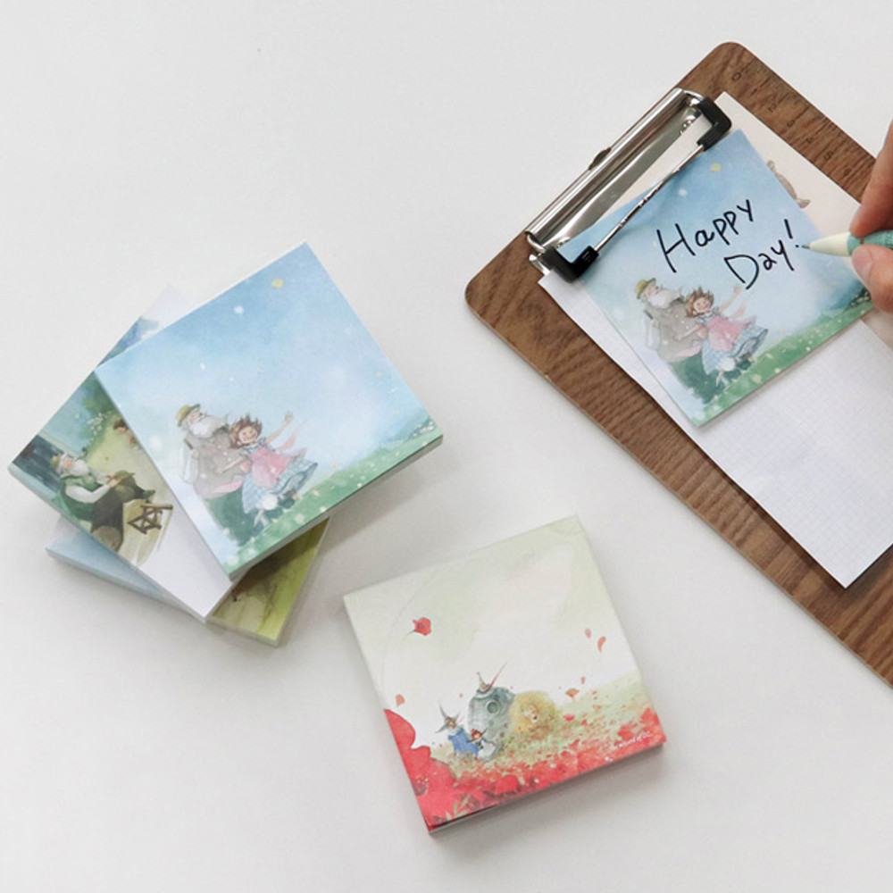 Indigo Classic story Heidi and OZ memo notepad