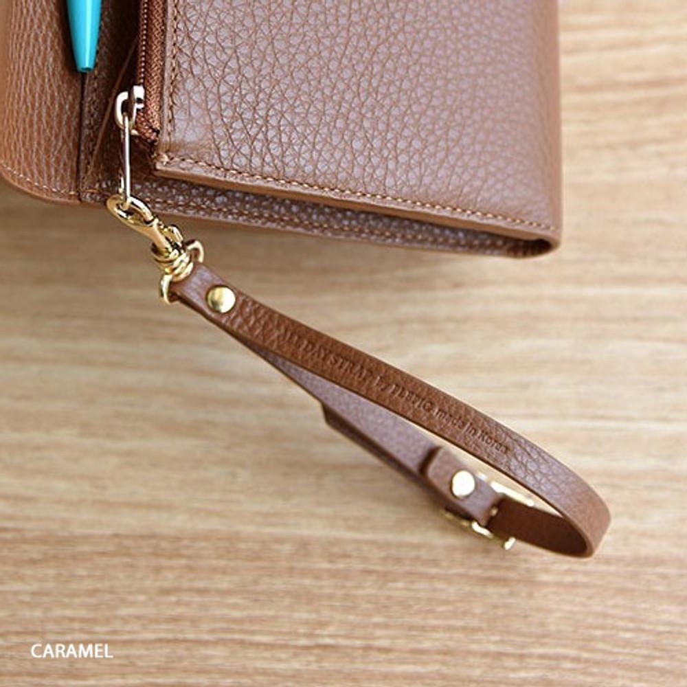 Caramel - Allday genuine cowhide leather strap