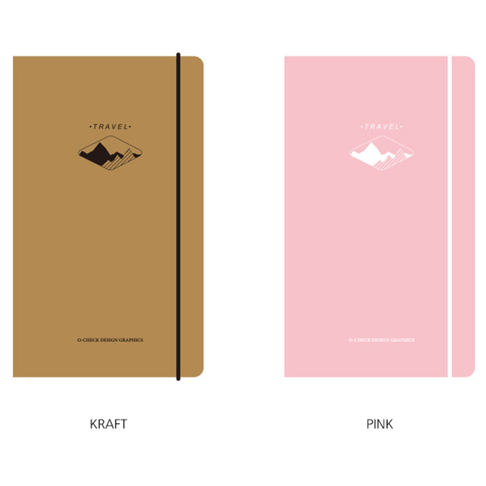 Option - O-check Light travel daily planner notebook
