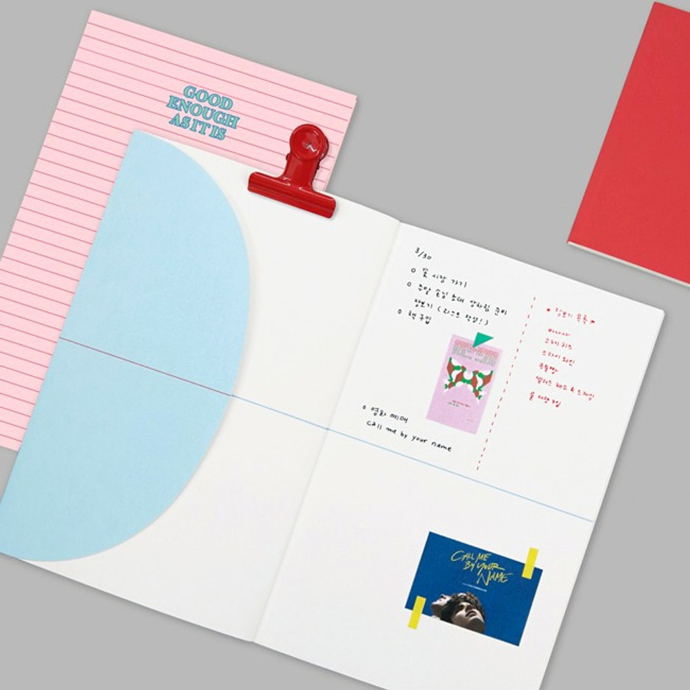 Example - bookmark large notebook