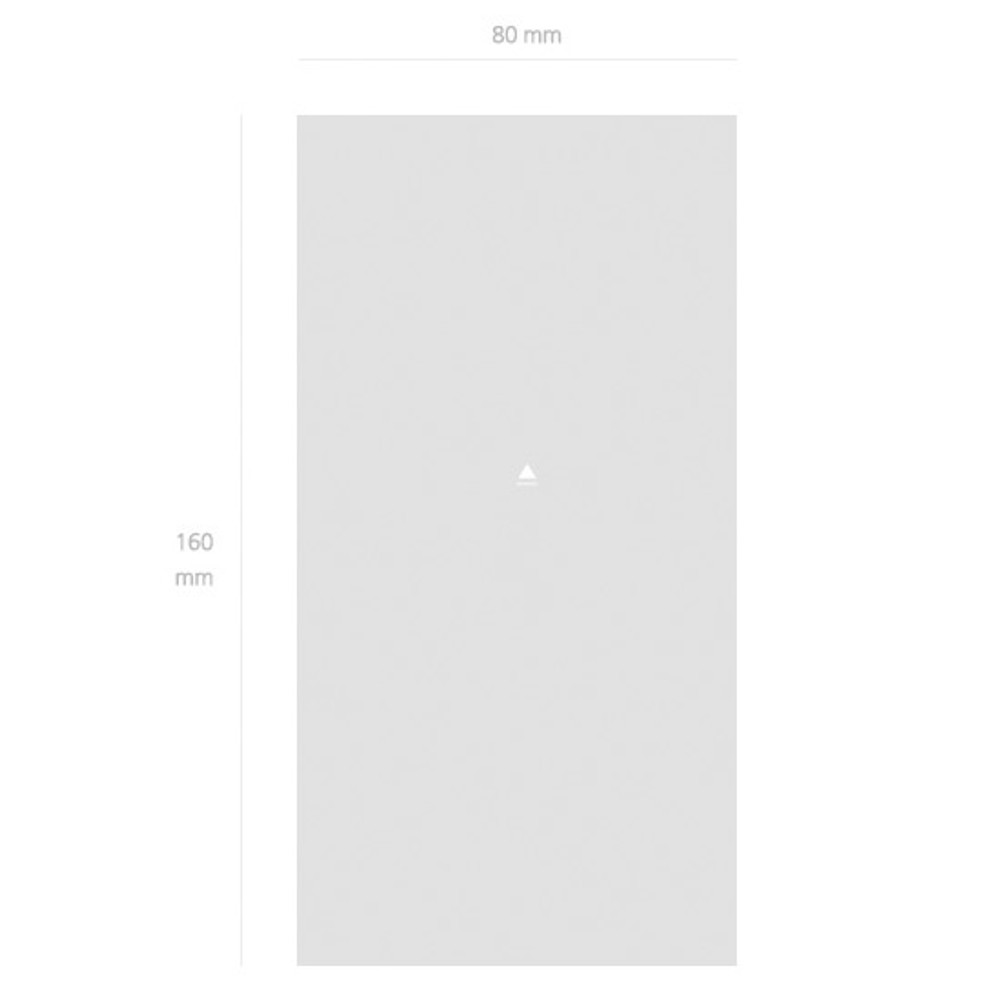 Size - NACOO Have a good time grid notepad