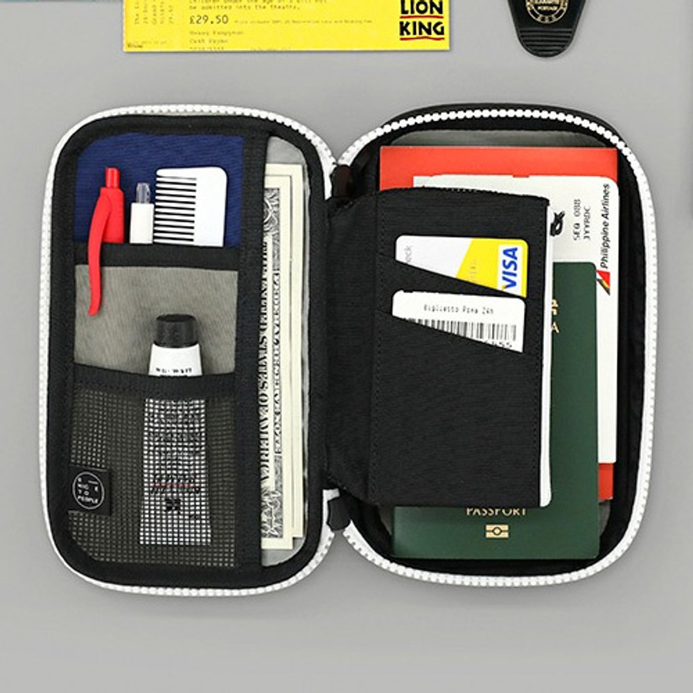 Example - Washer multi zip around pouch