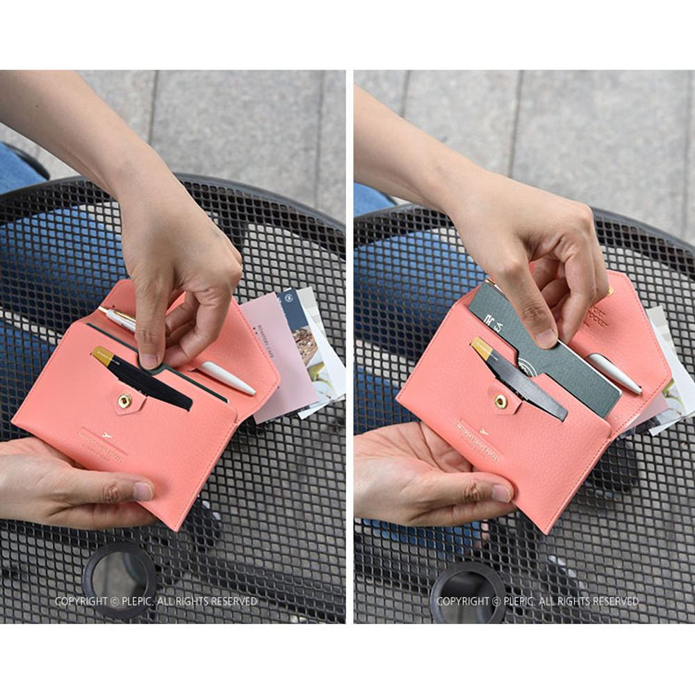 How to use - Away we go swing RFID blocking passport case