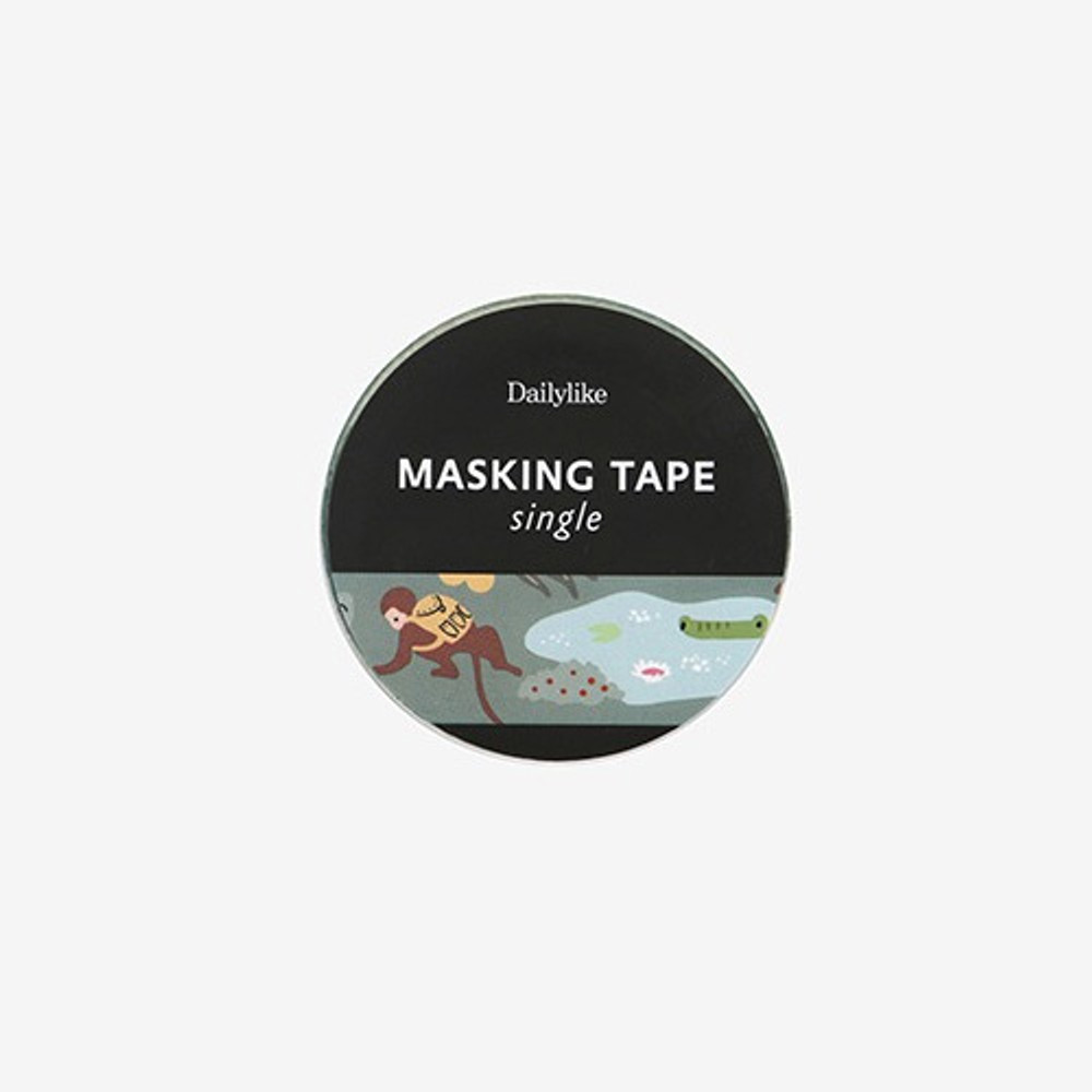 Package for Jungle single roll washi masking tape