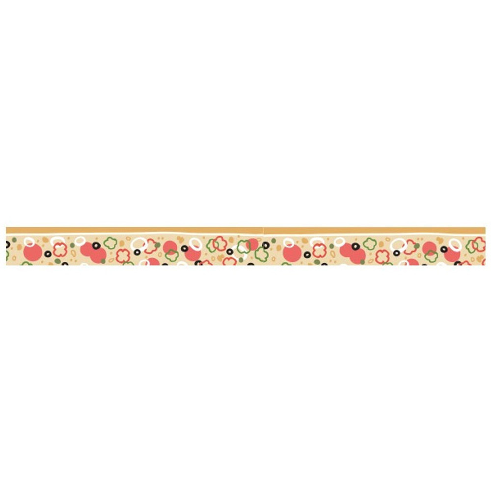 Detail of Pizza single roll washi masking tape